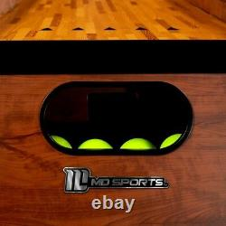 Skeeball Arcade Game with LED Electronic Scorer and Sound Effects + 4 Skee Balls