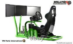 Solid Frame For Ultimate Racing Gaming Driving Arcade 3 Screen XBox PS5 Gift