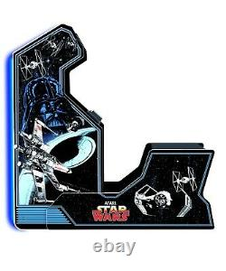 Star Wars Arcade Machine With Bench Seat Limited Edition Arcade1Up 17 Screen