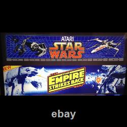 Star Wars / Empire Strikes Back Multigame Free Play High Score Save Kit Arcade