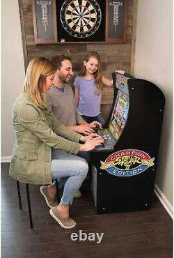 Street Fighter Arcade Machine Games Arcade1UP 3 in 1 Game Arcade Cabinet Home