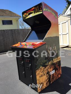 Sunset Riders ARCADE Machine 4-Player NEW Full Size plays many games GUSCADE