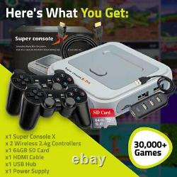 Super Console X GAME PRO Retro Video ARCAD OLD 3D Games for PS1-PSP-N64-NES-SNES