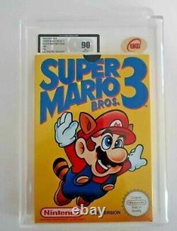 Super Mario 3 1991 SEALED MINT 90 GOLD UKG like VGA Nintendo NES Graded PAL