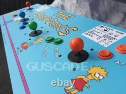 THE SIMPSONS Arcade Game Machine 4-Player OVR 1,100 Classics Brand NEW Guscade