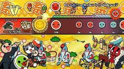 Taiko no Tatsujin Drum'n' Fun! Bundle Box Nintendo Switch Taiko Drum Brand New