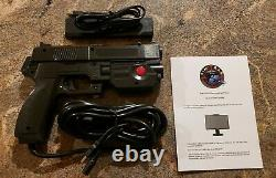 Ultimarc AimTrak Arcade Light Gun BLACK With RECOIL for MAME, Win, PS2 FREE SHIP