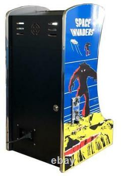 Upright Bartop Tabletop Cocktail Arcade Machine 412 Classic Games Coin Option