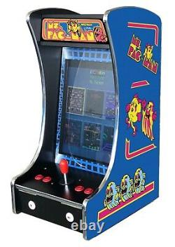 Upright Bartop Tabletop Cocktail Arcade Machine 60-1 Classic Games Coin Optio