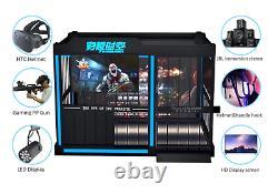 Virtual Reality Multiplayer Gun Shooting Cage 9D Simulator VR Arcade SEE VIDEO