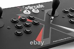 X-Arcade Dual Joystick, Two Players Great for MAME and Classic Arcade Games